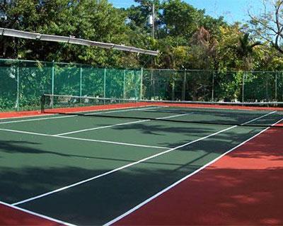 辽宁塑胶网球场施工