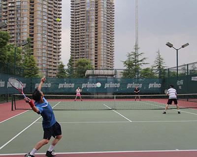 辽宁网球场施工