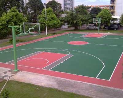 沈阳塑胶篮球场施工