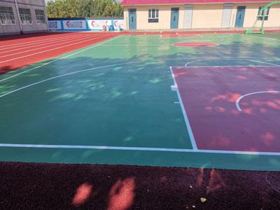 石家莊塑膠網球場施工