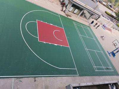 球場塑膠施工
