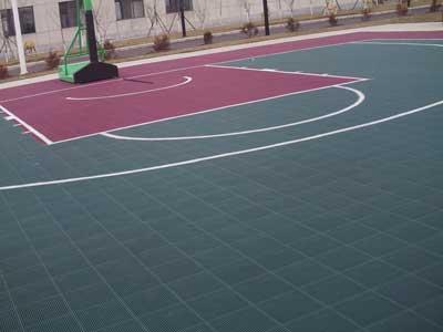 石家庄篮球场地板