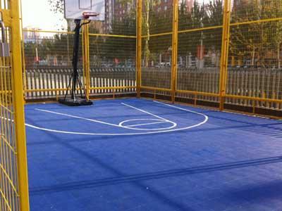 篮球场专用地板厂家