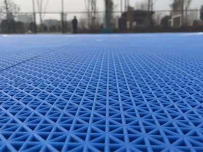 室外篮球场悬浮地板
