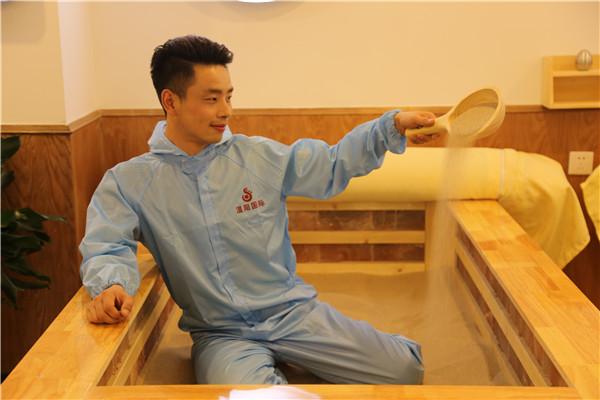 重庆沙灸理疗床