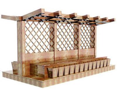 石家庄木质货架