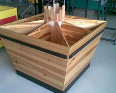 超市木质货架
