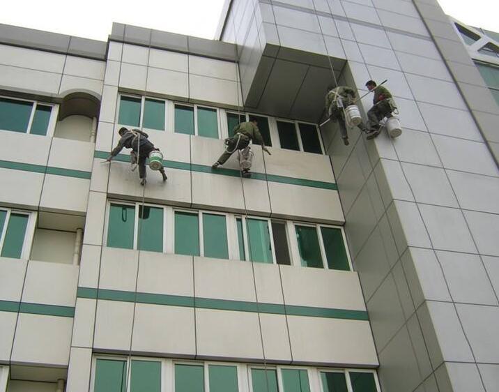 澳门外墙高空作业清洗