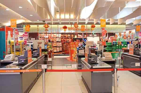 河南超市收银台