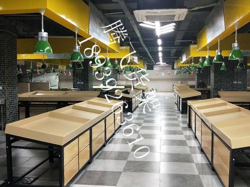 河南菜市场货架