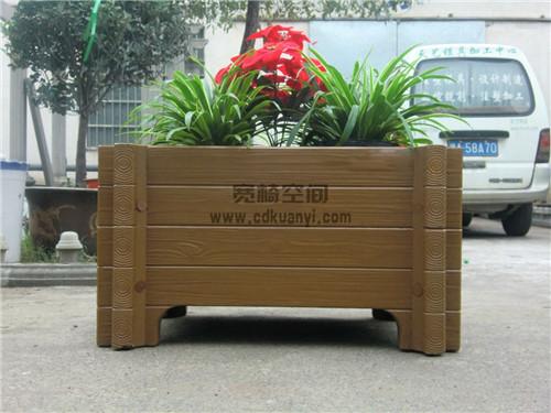 成都木质花箱