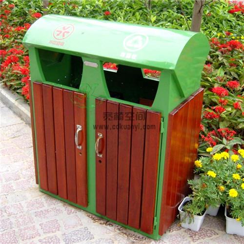 成都钢木垃圾桶