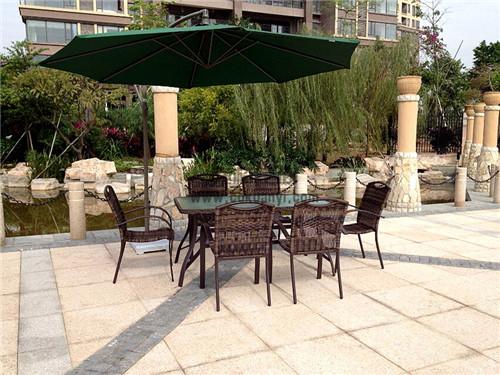 成都户外花园休闲桌椅