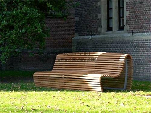成都金属公园长椅