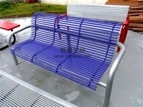 成都防腐木公共座椅