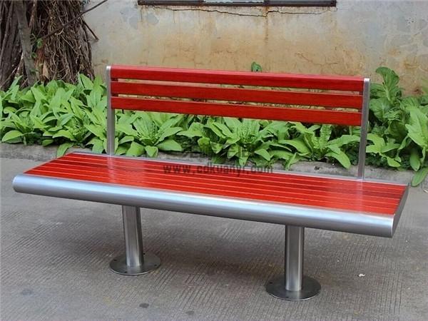 成都防腐木坐凳