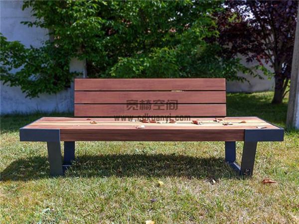 成都防腐木公园椅