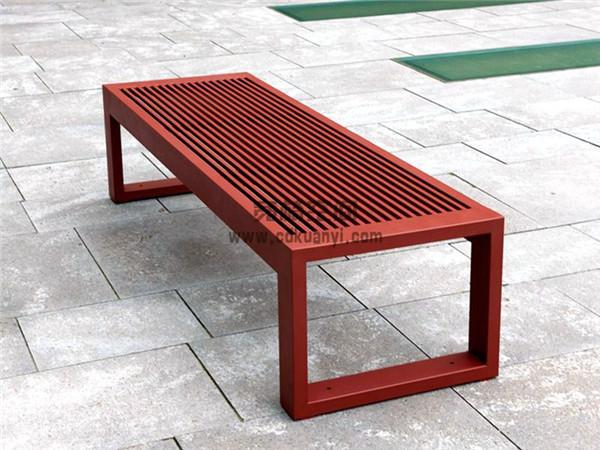成都金属公园排椅