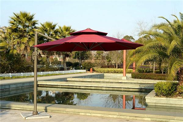 成都铝合金庭院遮阳伞