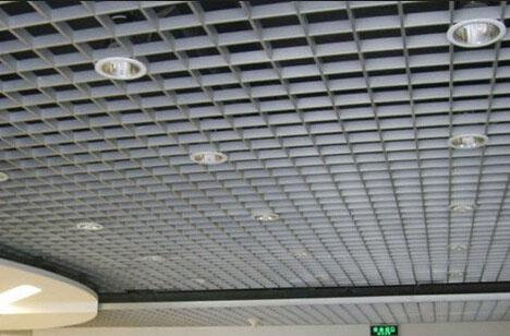 贵阳铝格栅吊顶安装