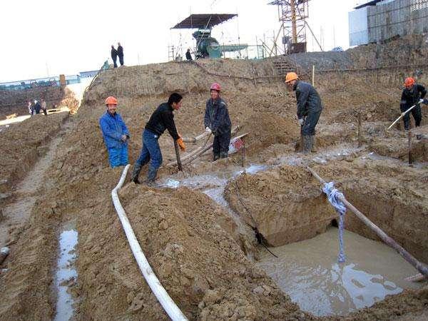 轻型井点降水工程