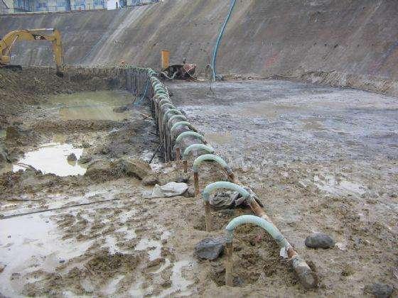 坑中坑轻型井点降水