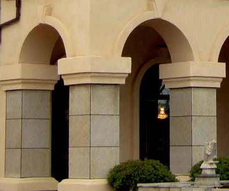 EPS线门台柱装饰