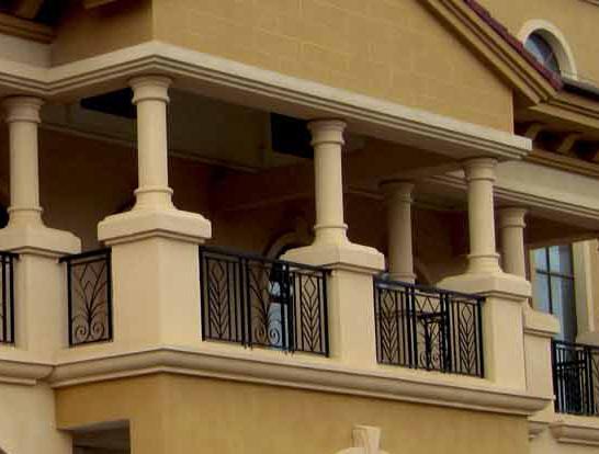 EPS窗台柱装饰