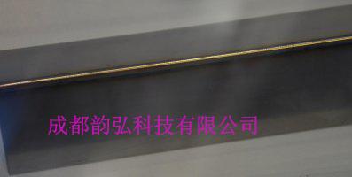 1毫米钛合金板角焊缝