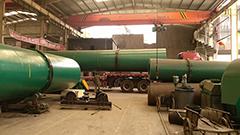 3万吨有机肥造粒机发货现场