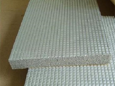 铝箔保温板材