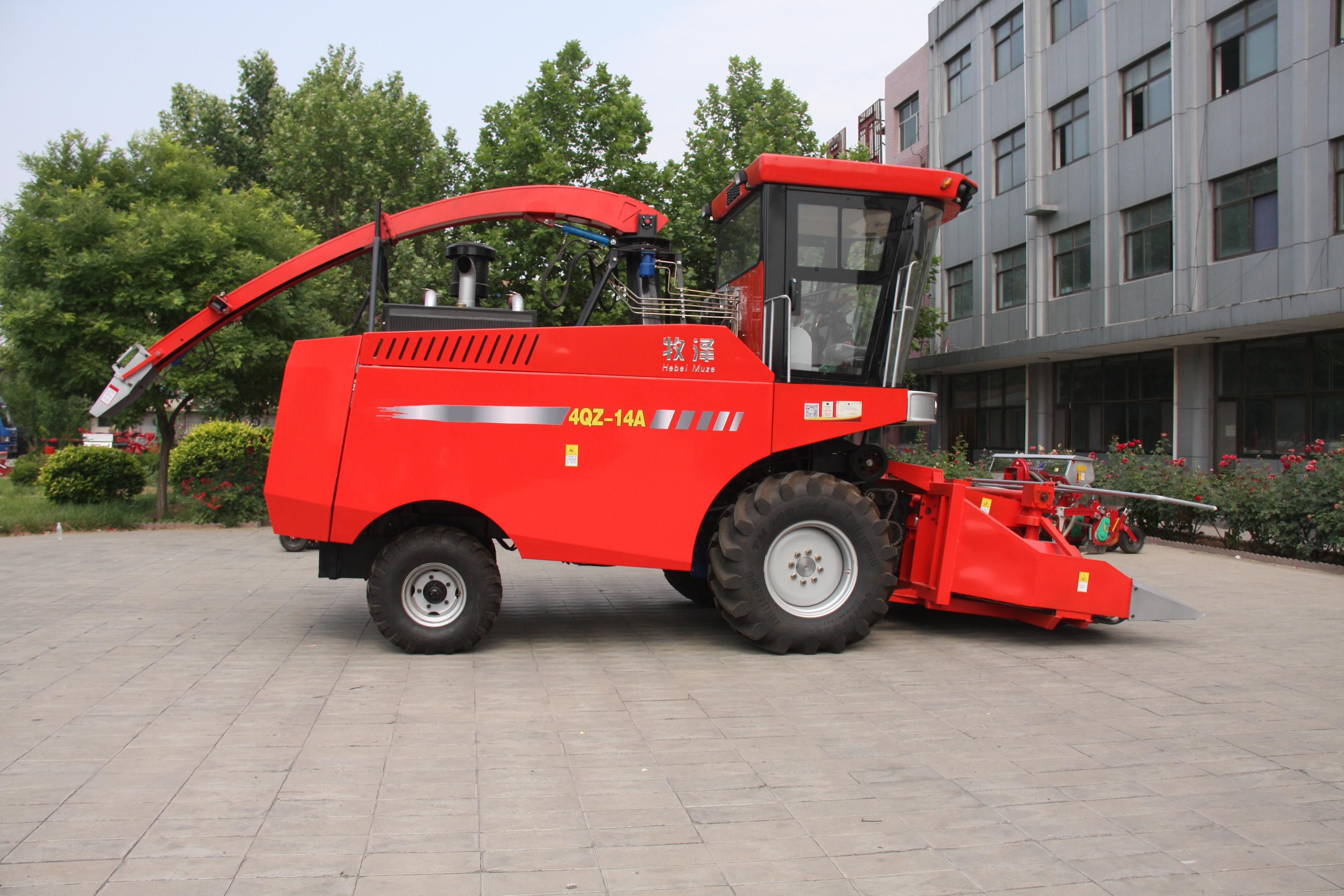 4QZ-14A青饲料收获机 玉米青贮机
