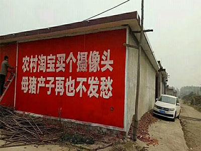保定专业墙体广告公司