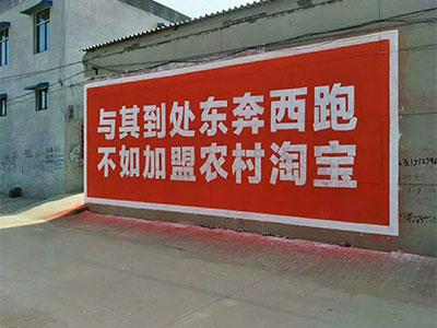 承德专业墙体广告