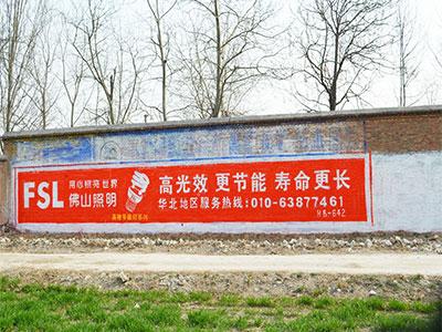 衡水专业墙体广告
