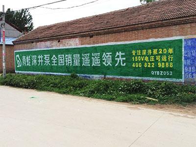 山东专业墙体广告