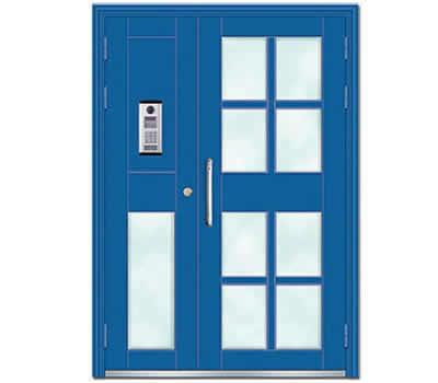 【图文】石家庄楼宇门的优点_单元楼对讲门