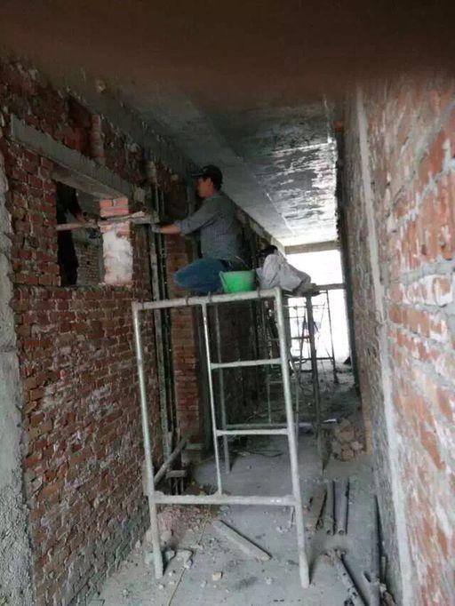 西安窄道墙体改梁