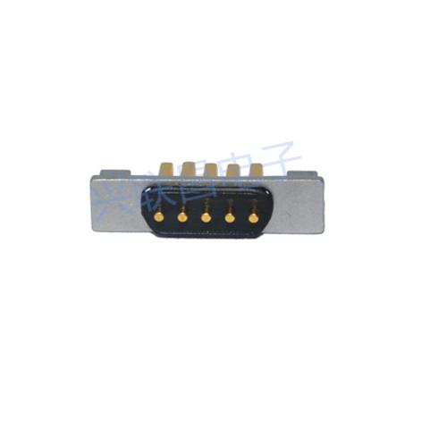 5Pin防水磁性连接器