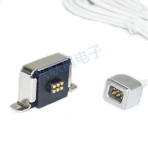 6pin磁铁连接器
