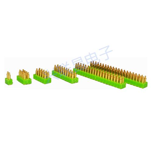 2.0间距弹簧顶针连接器
