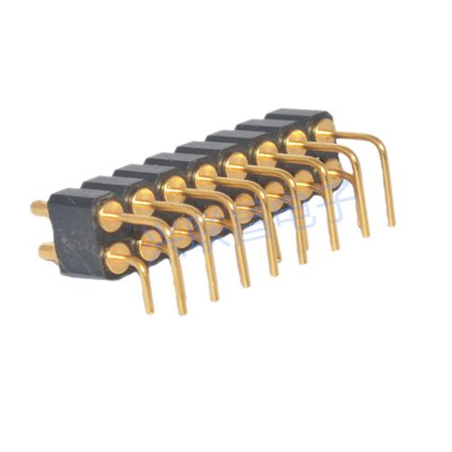 导电弹簧针连接器