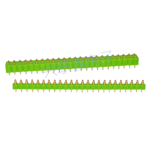 多Pin2.54间距pogo Pin连接器