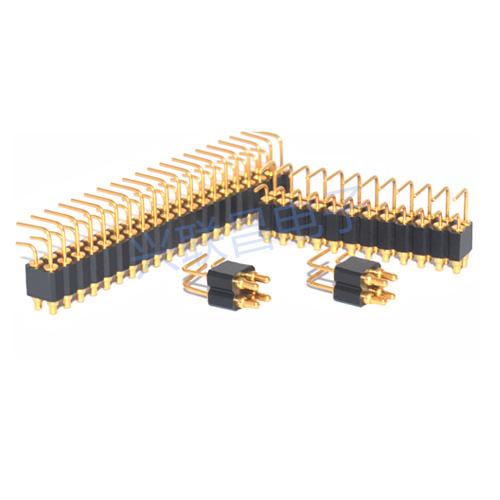 多Pin折弯弹簧针连接器