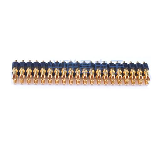 焊线式弹簧针连接器