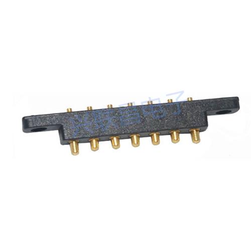 pogopin电池连接器7pin