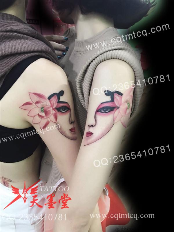 纹身风格1,文化习俗:纹身代表一个人的图片