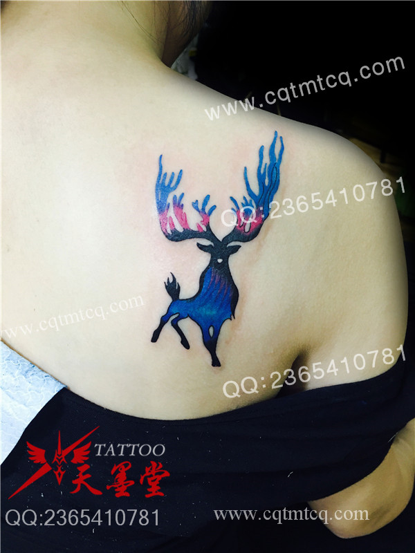 重庆动物纹身