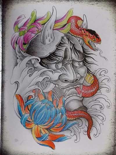纹身设计培训