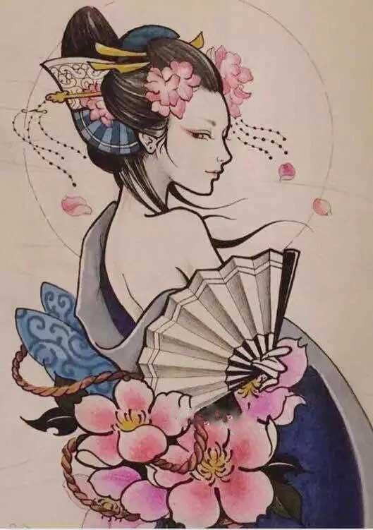 重庆古风纹身
